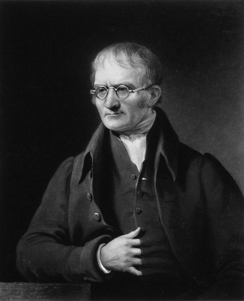 John Dalton, physicien et chimiste